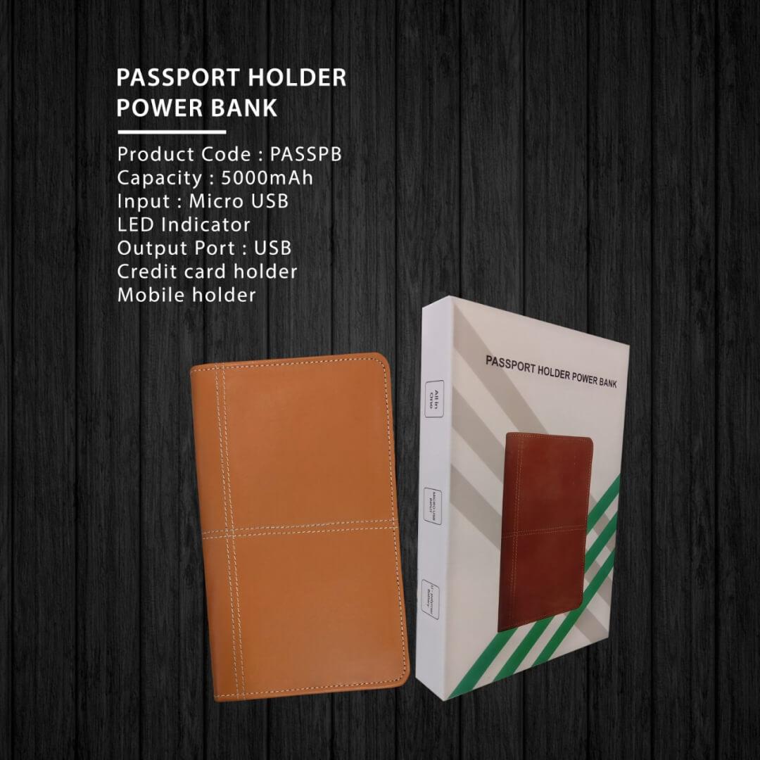 Passport Holder Power Bank