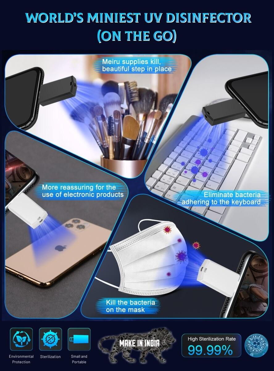 Mini Smartphone UV Disinfector