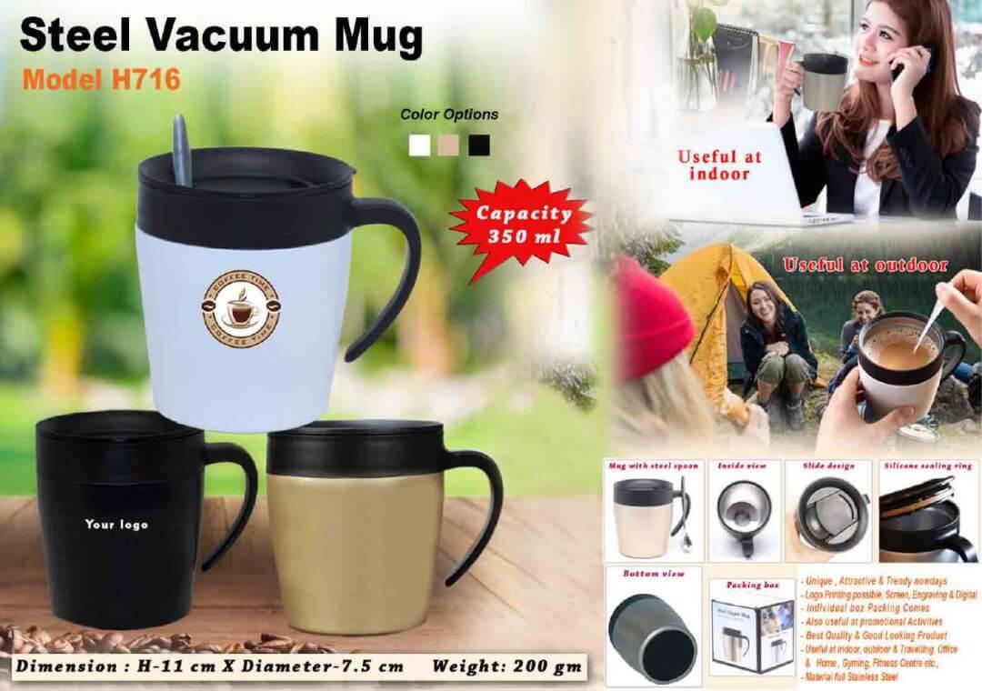 Steel Vacuum Mug 716