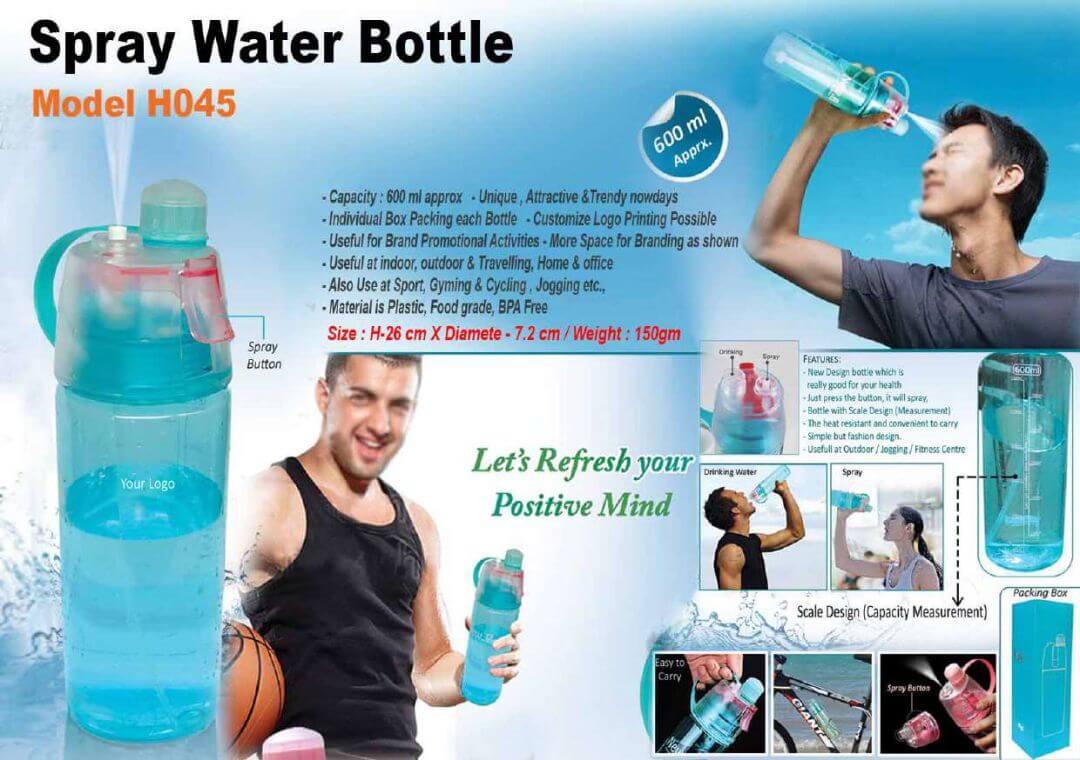 Spray Water Bottle 045
