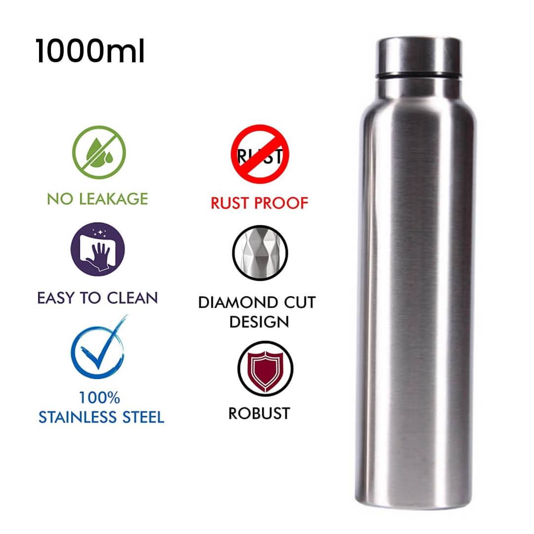 Steel Water Bottle 1000ml