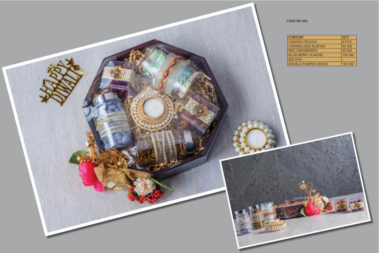 Wooden Diwali Gift Hampers CODE NO 202