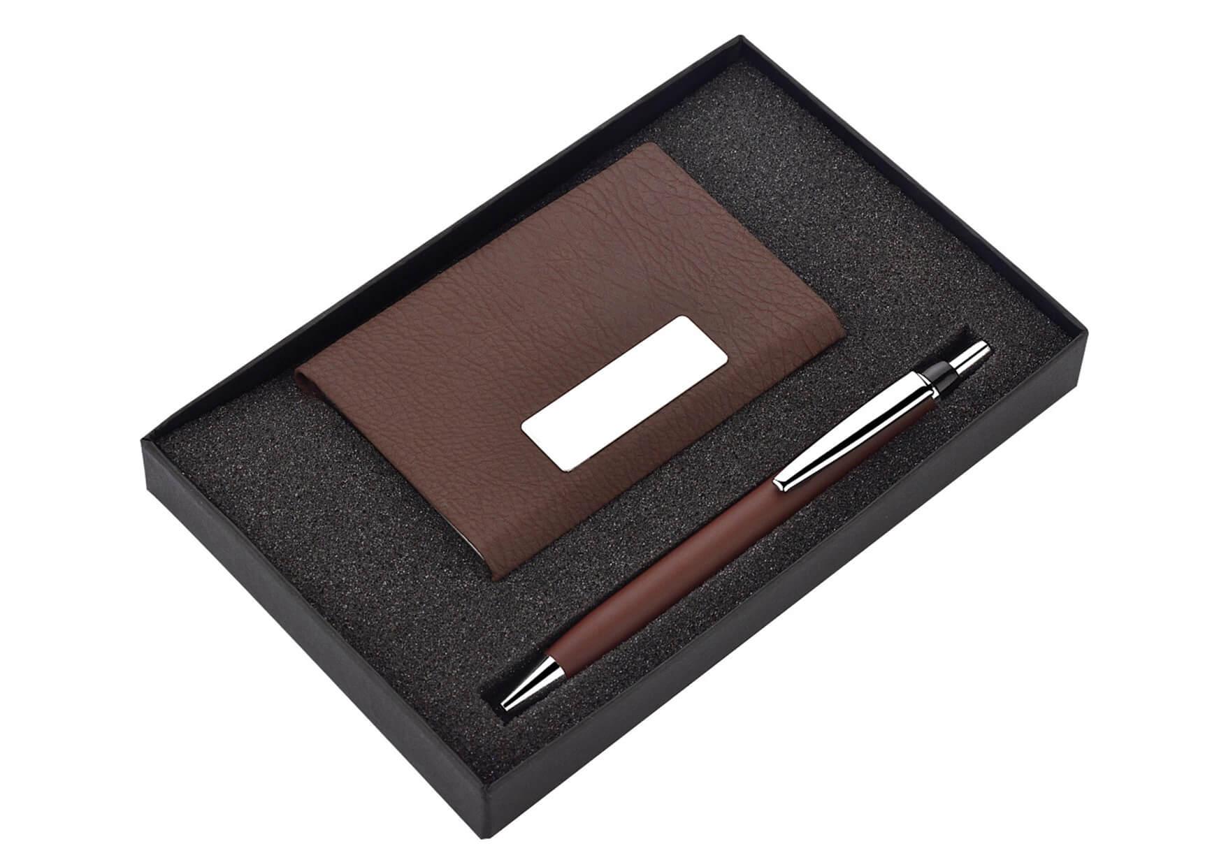 Card Holder and Pen Set Cluster