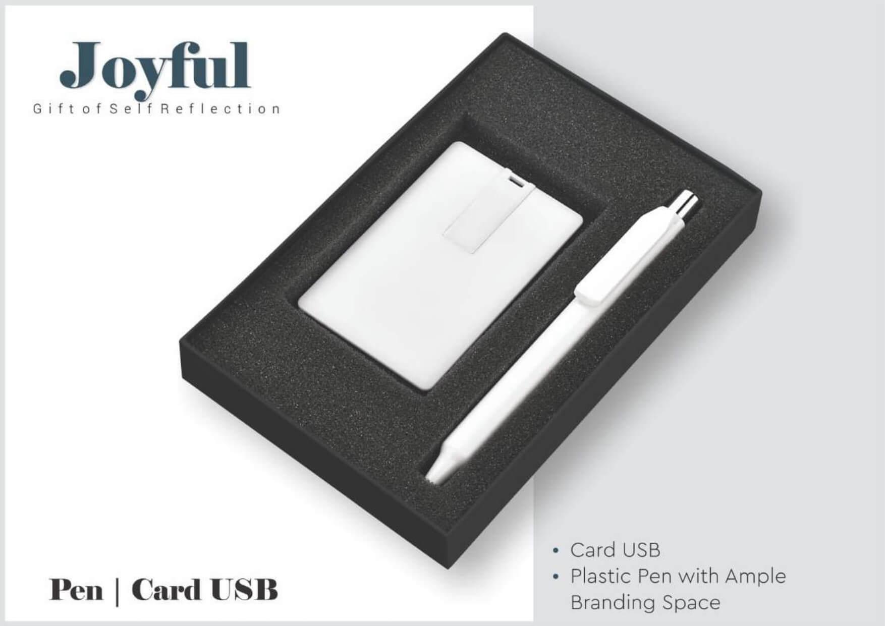 Card USB and Pen Joyful