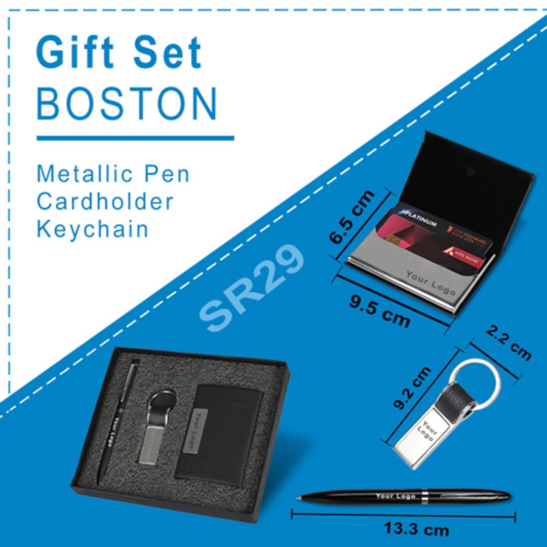 Gift Set  3 in 1 BOSTON- SR29