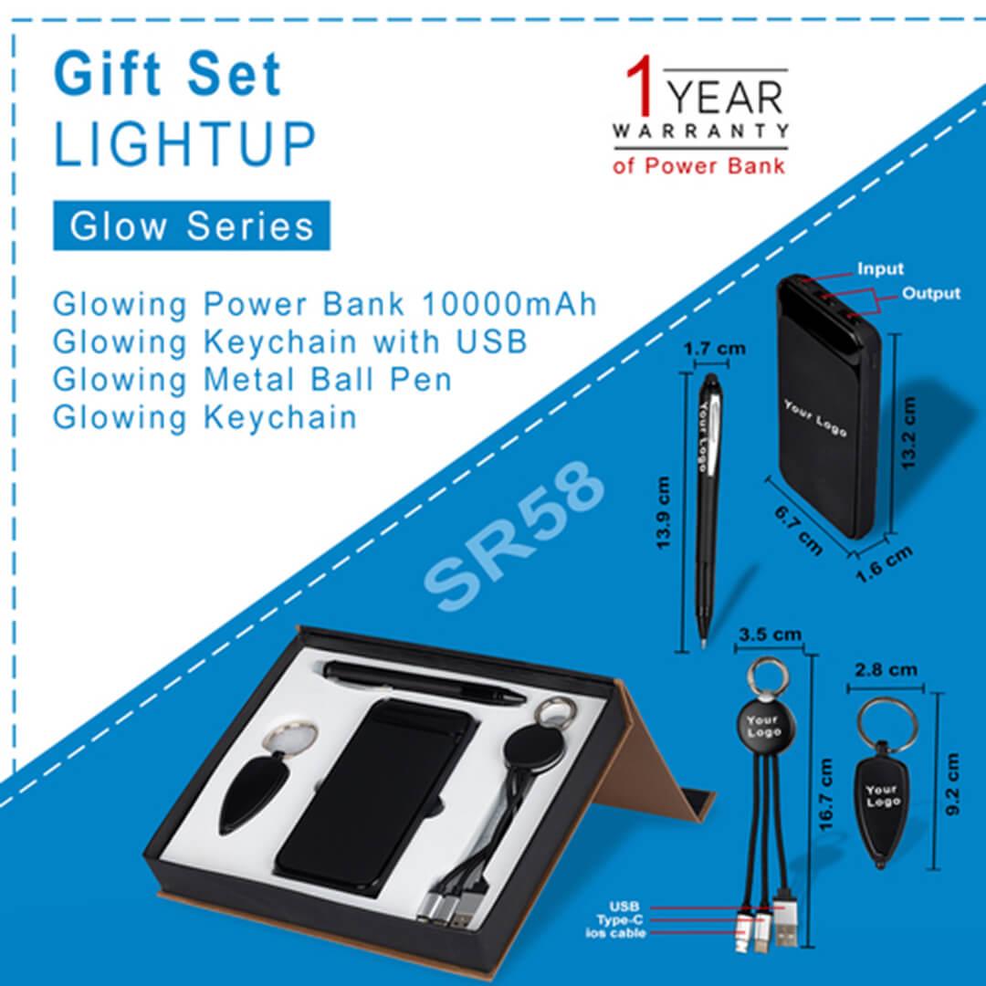 Gift Set 4 in 1 LIGHTUP- SR58
