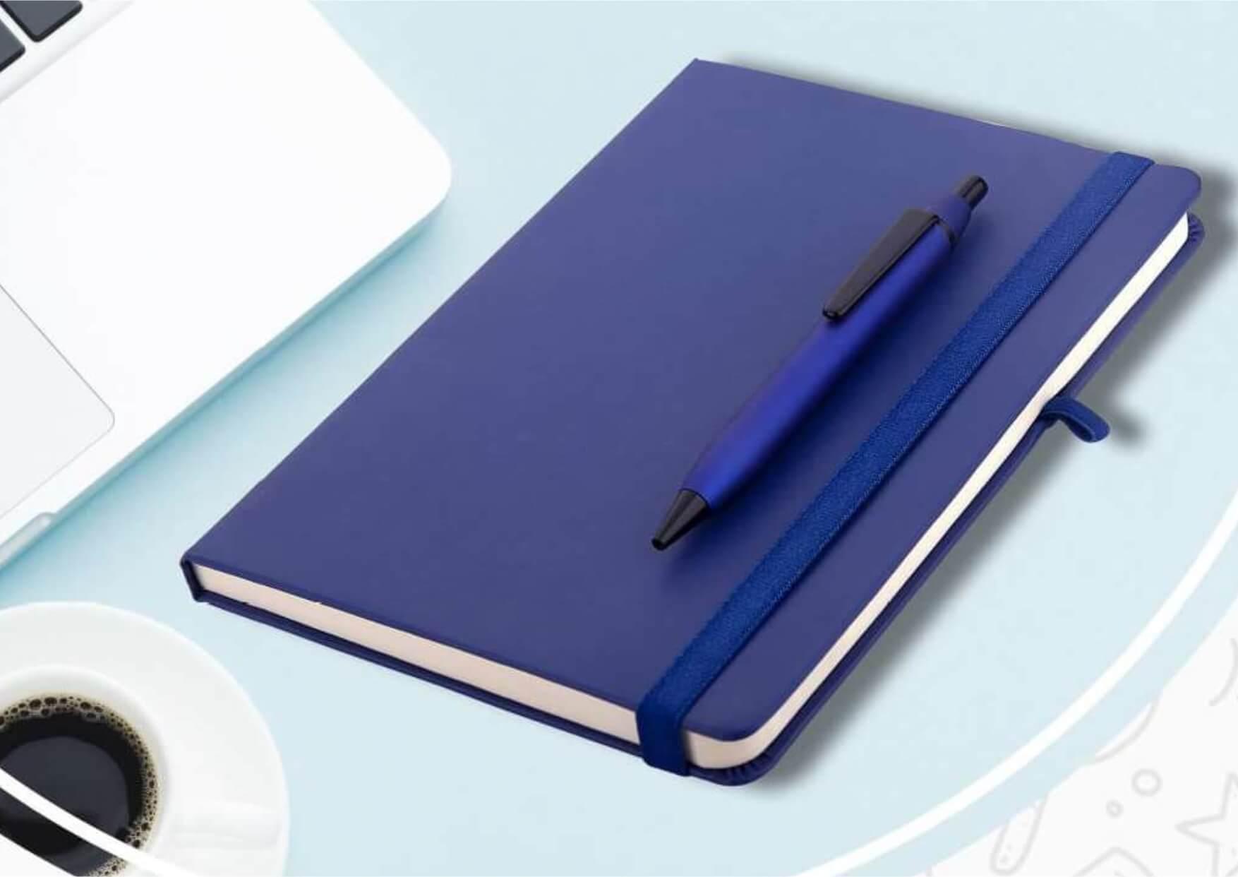 A5 Diary Pen Gift Set Europa