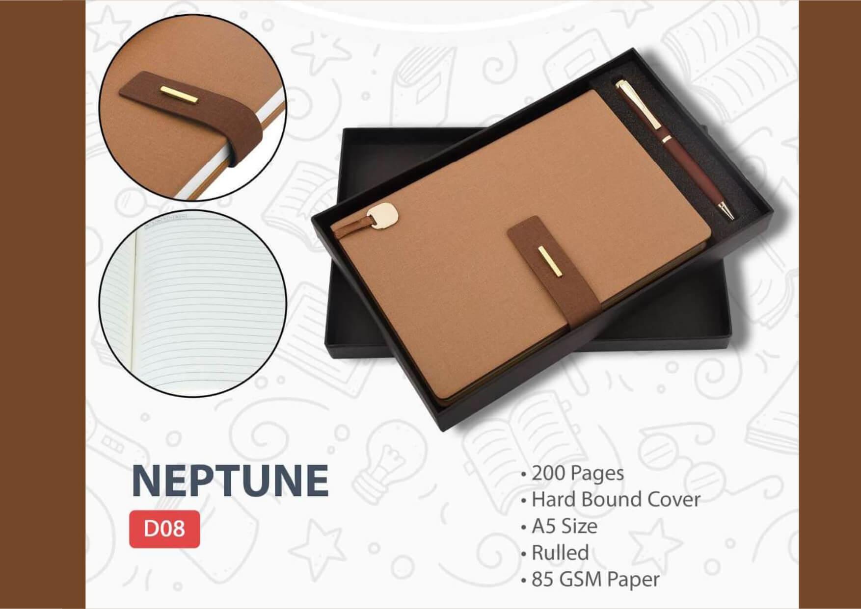 Diary Pen Set Neptune
