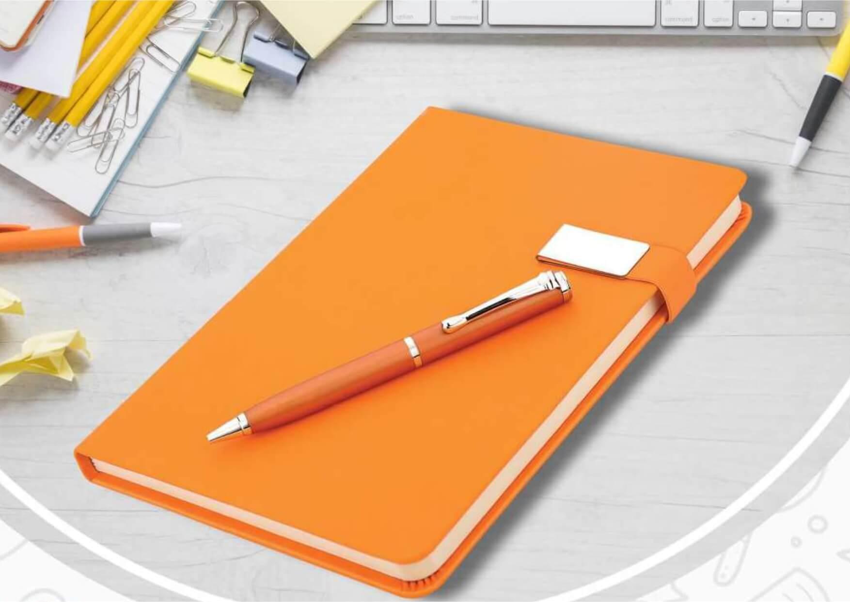 Lock Diary Pen Set Earth