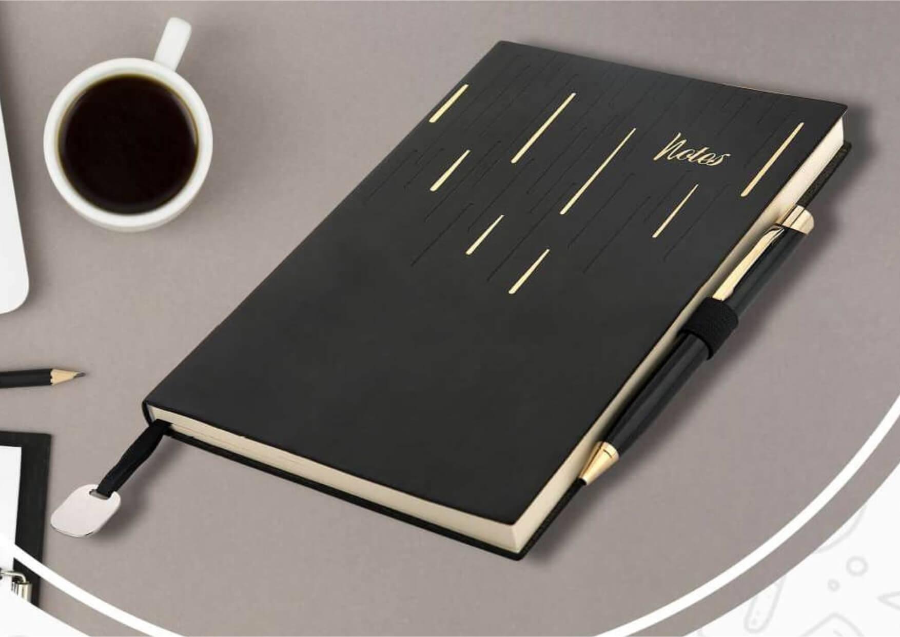 Notebook Diary Pen Set Barnard