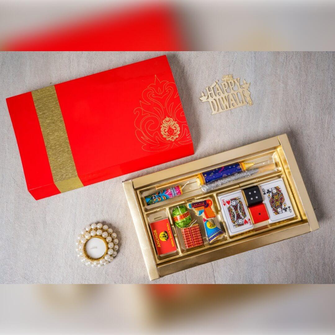 Diwali Chocolate Cards Box