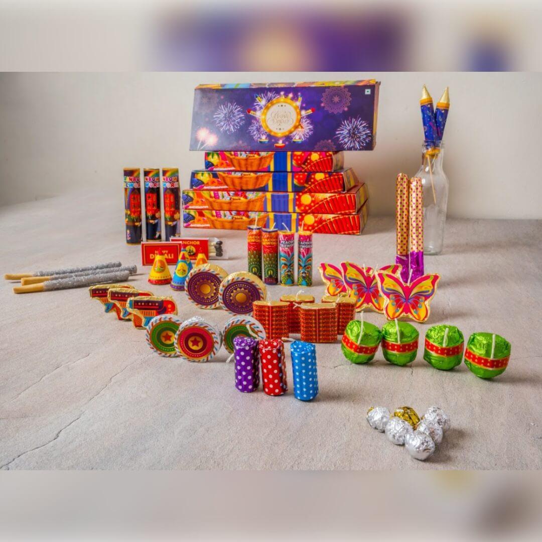 Firecracker Chocolate Box