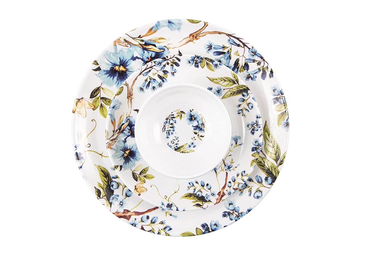 32 pcs Melamine Dinner Set (Blue Mist)