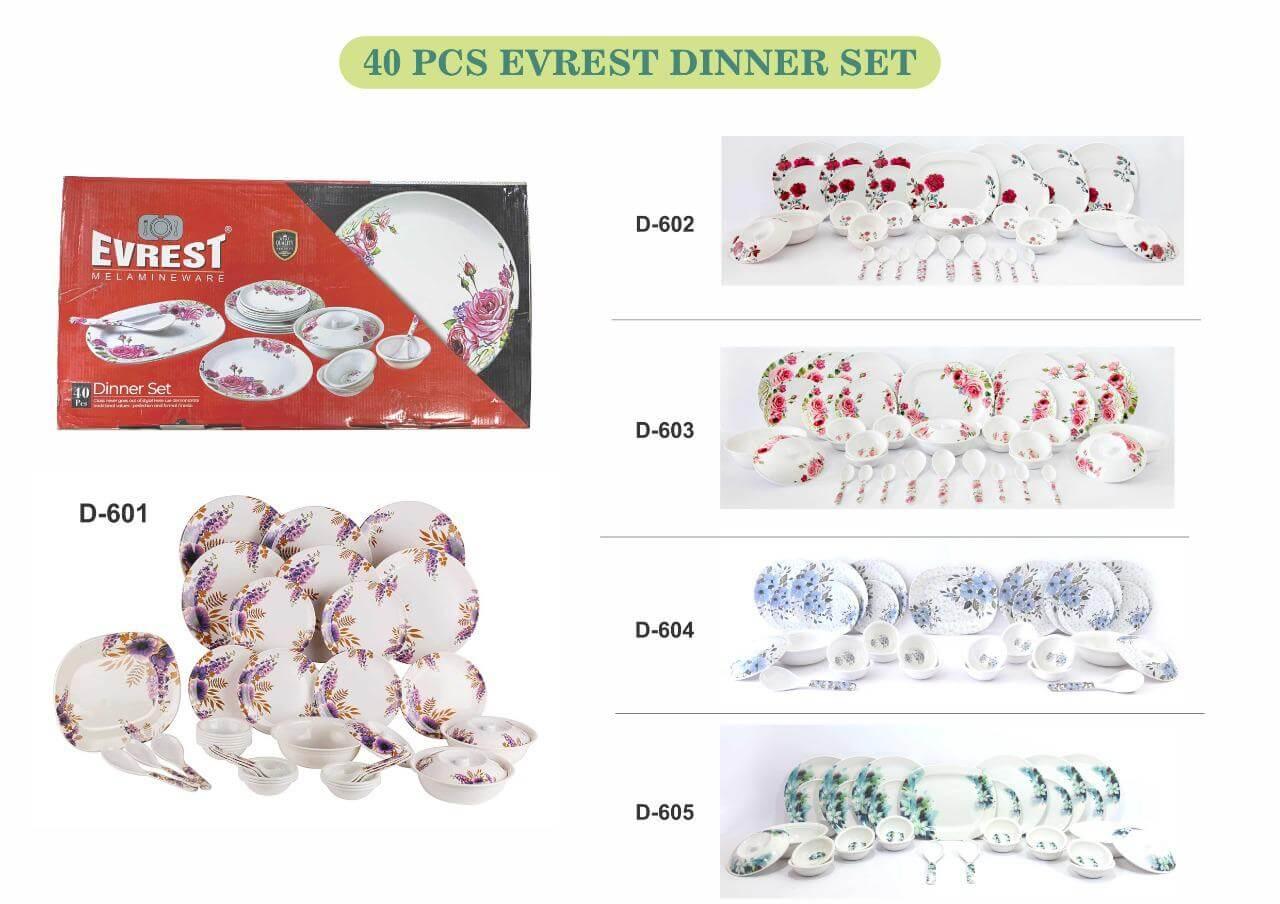 40pcs Dinner Set